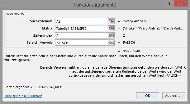 Excel Wverweis Funktion Am Beispiel Erklärt Traenscom