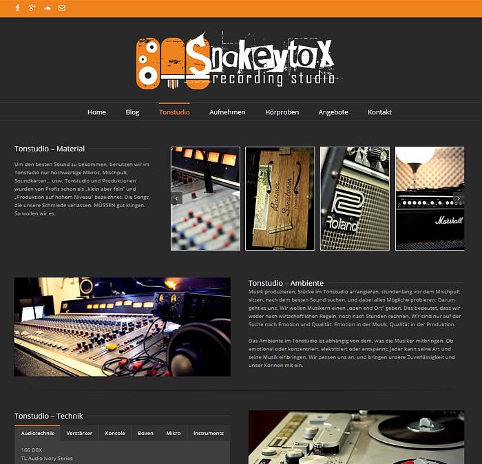 Snakeytox Studioseite