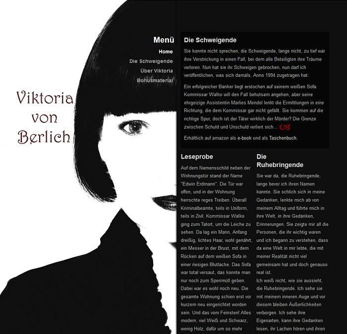 Viktoria von Berlich - Startseite