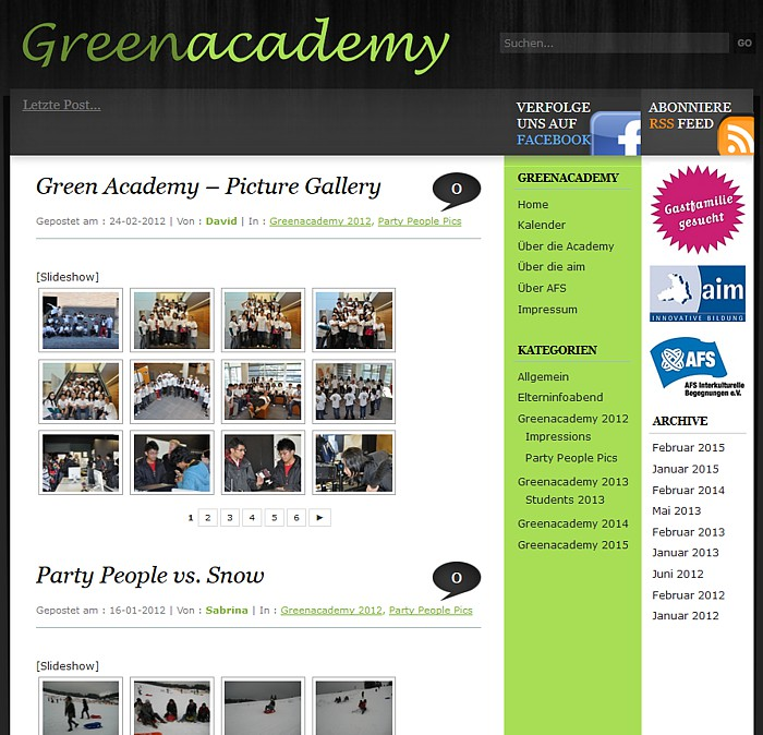 Green Academy - Image Gallery