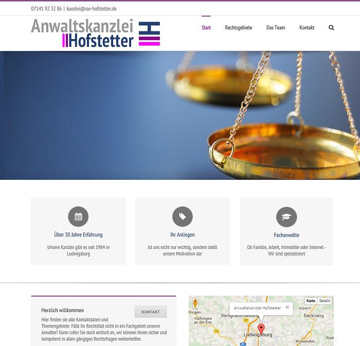 Anwaltskanzlei Hofstetter - Home