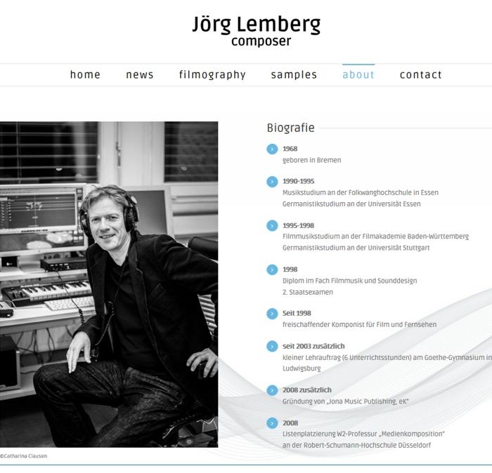 Jörg Lemberg - About