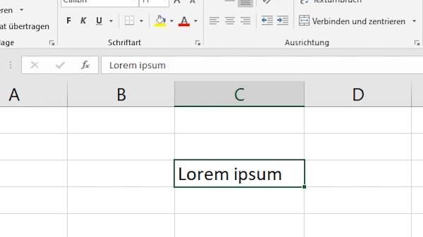 Excel - Nur Formate löschen
